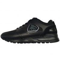 Blauer USA - EU/42 - Sneaker basso in tessuto e scamosciato nero