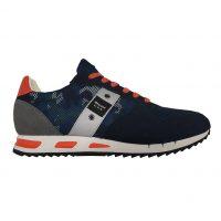 Blauer USA - EU/40 - Sneaker basso in misto di materiali