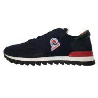 Invicta - EU/40 - Sneaker basso in scamosciato e tessuto impermeabile blu