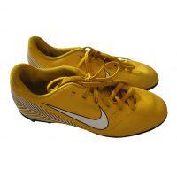 Nike - EU/37.5 - Scarpette da calcio in plastificato giallo