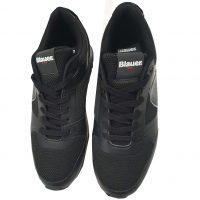 Blauer USA - EU/41 - Sneaker basso in scamosciato e tessuto nero