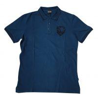 Just Cavalli - M - Polo in cotone blu
