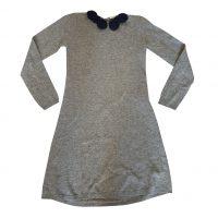 Il Gufo - 10 Anni - Abito in misto di materiali grigio