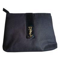 Yves Saint Laurent - Beauty case in cotone nero