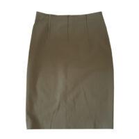 Les Copains - IT/42 - Gonna in cotone e lana elasticizzato kaki