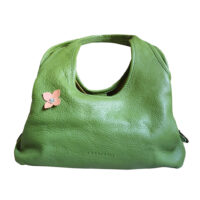 Coccinelle - Borsetta portata a spalla in pelle verde