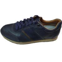 Salvatore Ferragamo - EU/41 - Sneaker basso in pelle blu
