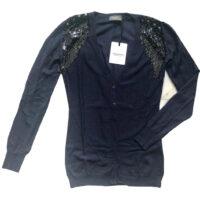 Annarita N. - S - Cardigan lana e cashmere nere
