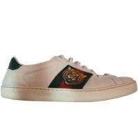 Gucci - EU/40 - Sneaker basso in pelle bianco