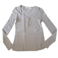 Zara - M - Maglia in cotone beige